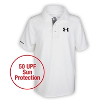 YOUTH UNDER ARMOUR MATCH PLAY POLO