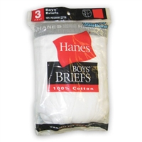 HANES BRIEFS FOR BOYS -- 2 PER PACKAGE