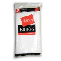 HANES BRIEFS FOR MEN -- 2 PER PACKAGE