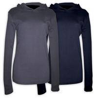 AMERICAN APPAREL LONG SLEEVE HOODY