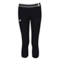 GIRLS UNDER ARMOUR HEAT GEAR ALPHA CAPRI