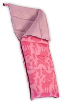 PINK MOOSE SLEEPING BAG