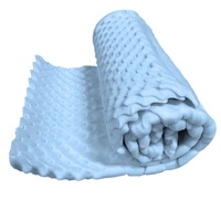 EGG CRATE MEMORY FOAM COT SIZE SLEEPING PAD