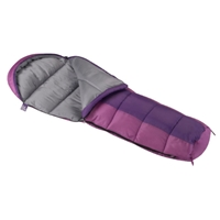 PINK & PURPLE YOUTH SLEEPING BAG
