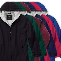 BLANK FULL ZIPPER JACKET WITH HOOD
