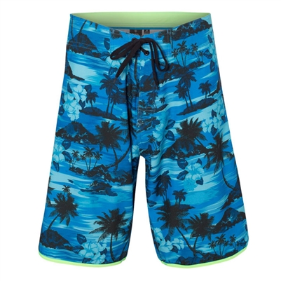 MEN'S DOBBY BOARD SHORTS