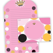 GLITTER FOLD & SEAL STATIONERY