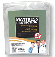TWIN MATTRESS PROTECTION - BED BUGS