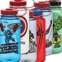 MARVEL COMIC NALGENE WATER BOTTLE