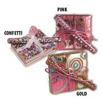JEWELED NOTEBOOK & PEN