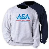AMERICAN SPORTS ACADEMY OFFICIAL CREW SWEATSHIRT
