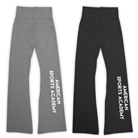 AMERICAN SPORTS ACADEMY AMERICAN APPAREL COTTON SPANDEX JERSEY YOGA PANT