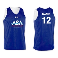 AMERICAN SPORTS ACADEMY UNDER ARMOUR REV TANK