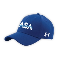 AMERICAN SPORTS ACADEMY UNDER ARMOUR CURVED BRIM STRETCH FITTED CAP