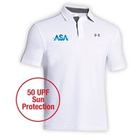 AMERICAN SPORTS ACADEMY ADULT UNDER ARMOUR LEADERBOARD POLO
