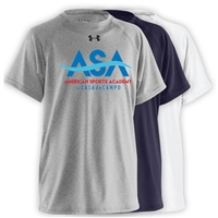 AMERICAN SPORTS ACADEMY UNDER ARMOUR TEE