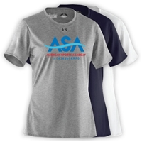 AMERICAN SPORTS ACADEMY LADIES OFFICIAL UNDER ARMOUR TEE