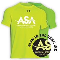 AMERICAN SPORTS ACADEMY HYPER COLOR UNDER ARMOUR TEE