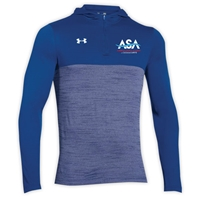 AMERICAN SPORTS ACADEMY UNDER ARMOUR TECH 1/4 ZIP HOODY