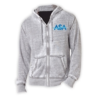 AMERICAN SPORTS ACADEMY UNISEX BURNOUT HOODY