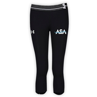 AMERICAN SPORTS ACADEMY GIRLS UNDER ARMOUR HEAT GEAR ALPHA CAPRI