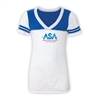 AMERICAN SPORTS ACADEMY SPORTY BURNOUT V-NECK