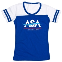 AMERICAN SPORTS ACADEMY POWDER PUFF T-SHIRT