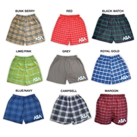 AMERICAN SPORTS ACADEMY FLANNEL BOXERS