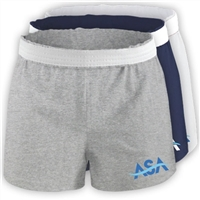 AMERICAN SPORTS ACADEMY LADIES COTTON SHORT