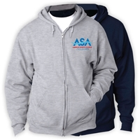 AMERICAN SPORTS ACADEMY FULL ZIP HOODED SWEATSHIRT
