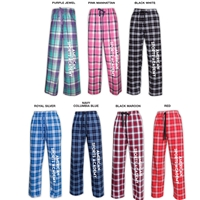 AMERICAN SPORTS ACADEMY FLANNEL PANTS