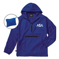 AMERICAN SPORTS ACADEMY PACK-N-GO PULLOVER JACKET