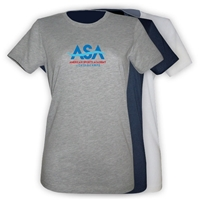 AMERICAN SPORTS ACADEMY GIRLS FITTED TEE