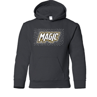 RHINESTONE GILDAN HOODED YOUTH SWEATSHIRT