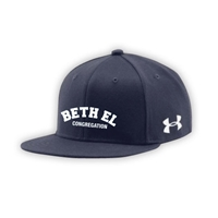 BETH EL UNDER ARMOUR FLAT BRIM STRETCH FITTED CAP