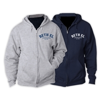 BETH EL FULL ZIP HOODED SWEATSHIRT