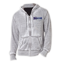BRIDGTON UNISEX BURNOUT HOODY