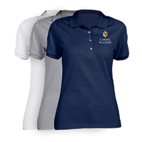 CARMEL ACADEMY LADIES SHORT SLEEVE POLO