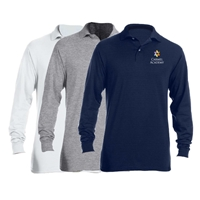 CARMEL ACADEMY LONG SLEEVE POLO