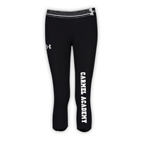 CARMEL ACADEMY GIRLS UNDER ARMOUR HEAT GEAR ALPHA CAPRI