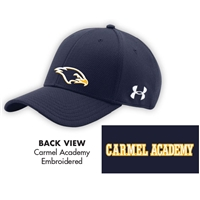 CARMEL SPORTS UNDER ARMOUR CURVED BRIM STRETCH FITTED CAP