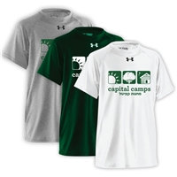 CAPITAL CAMPS UNDER ARMOUR TEE