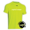 CAPITAL CAMPS HYPER COLOR UNDER ARMOUR TEE