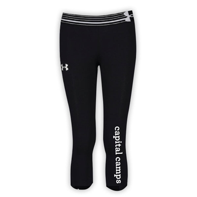 CAPITAL CAMPS GIRLS UNDER ARMOUR HEAT GEAR ALPHA CAPRI