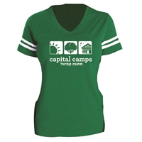 CAPITAL CAMPS LADIES GAME DAY TEE