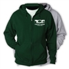 CAPITAL CAMPS FULL ZIP HOODED SWEATSHIRT