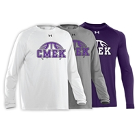 CMEK BASKETBALL UNDER ARMOUR LONGSLEEVE TEE