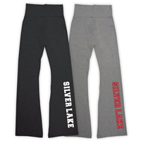 SILVER LAKE AMERICAN APPAREL COTTON SPANDEX JERSEY YOGA PANT