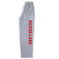SILVER LAKE OPEN BOTTOM SWEATPANTS WITH POCKETS