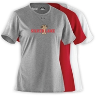 SILVER LAKE LADIES UNDER ARMOUR TEE